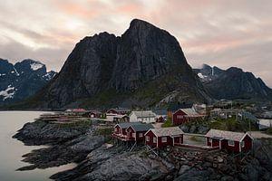 Hamnøy (Lofoten, Noorwegen) van