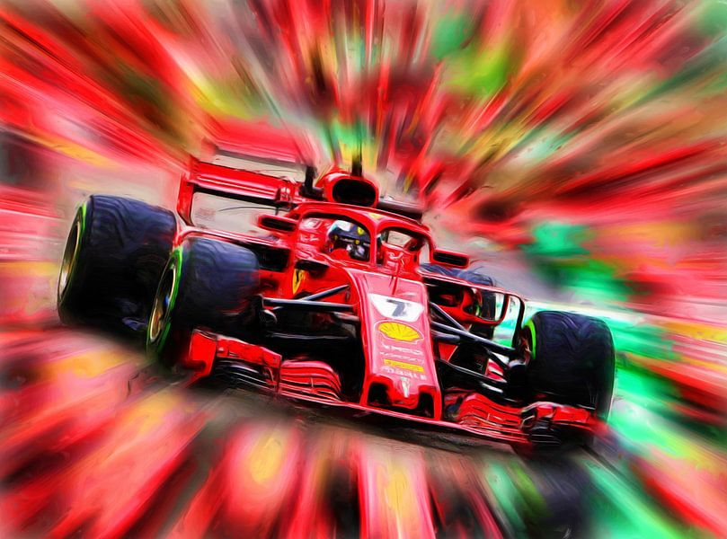 Kimi Räikkönen - Saison 2018 von Jean-Louis Glineur alias DeVerviers