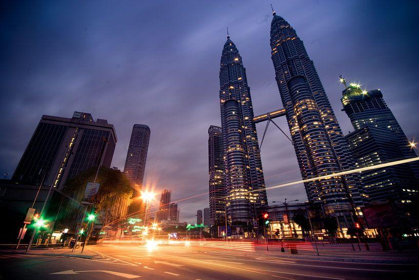 Kuala Lumpur  van Didden Art