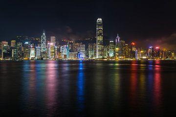 Skyline von Hongkong von Shanti Hesse