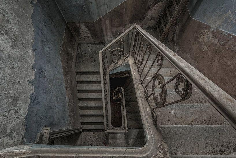 Verlaten Trappenhuis van Maikel Brands