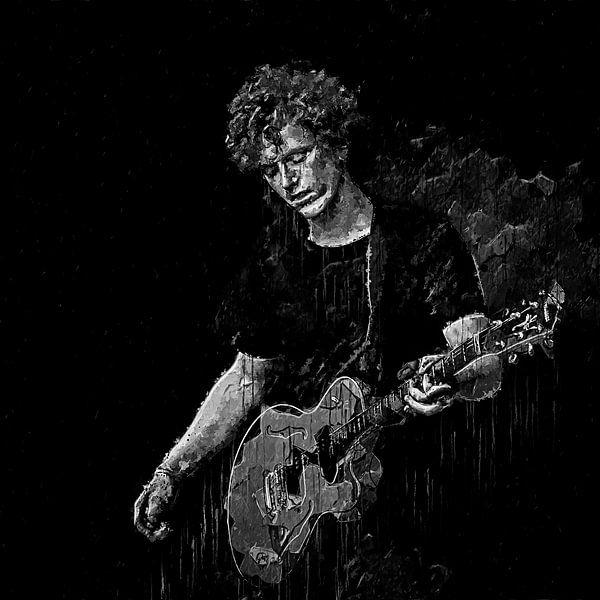 Guitariste sur Luc V.be