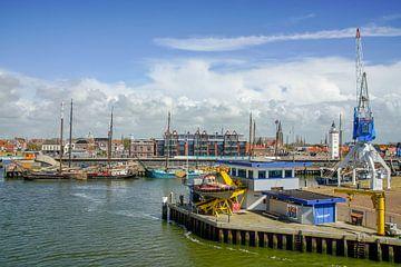 Haven van Harlingen van Dirk van Egmond