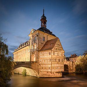 Altes Rathaus in Bamberg von Michael Valjak