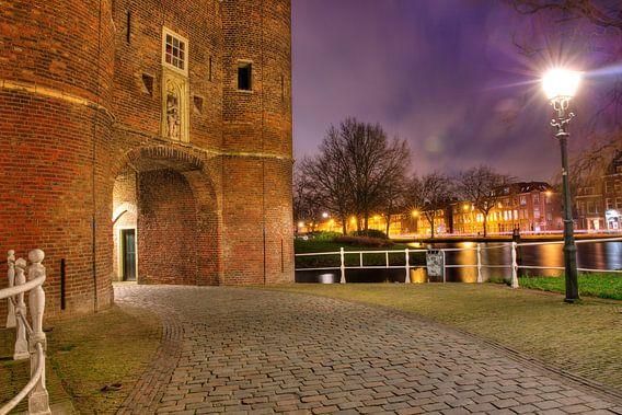 Een avond bij de Oosterpoort in Delft