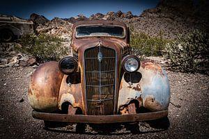 Antieke auto Plymouth van