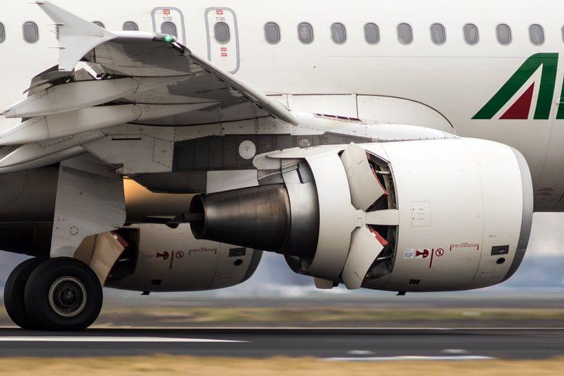 Alitalia Airbus A319 van Nildo Scoop
