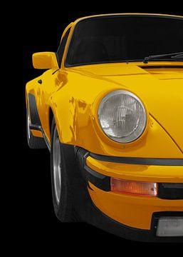 Porsche 911 G-model in geel van aRi F. Huber