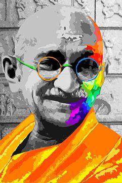 Gandhi van Damien Vincent