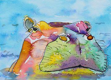 Nijlpaard van Jessica van Schijndel