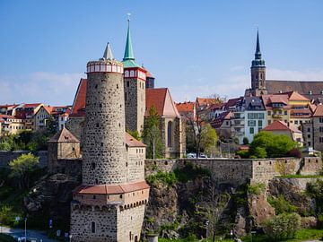Gezicht op de oude stad van Bautzen in Saksen van Animaflora PicsStock