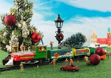 christmas train van Compuinfoto .
