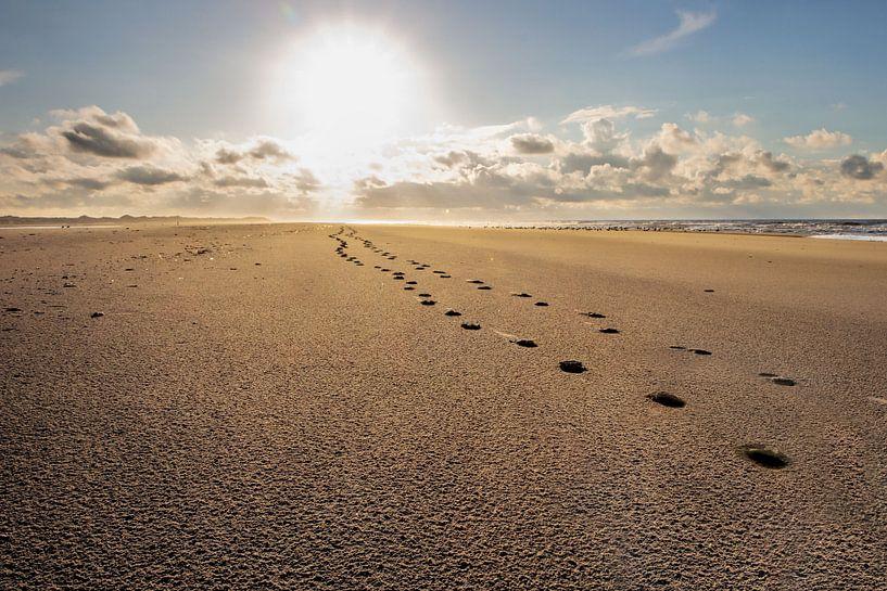 Voetstappen in het zand van Jaco Verpoorte