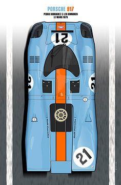 Rodriguez, Kinnunen 917 Le Mans 1970