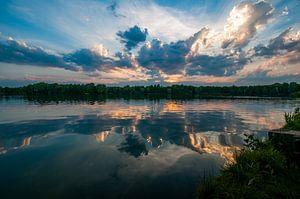 zonsondergang van John Driessen