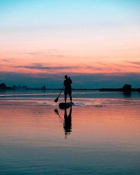 Supboarden in Friesland van Dayenne van Peperstraten