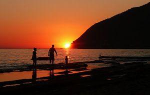 Zonsondergang Griekenland van