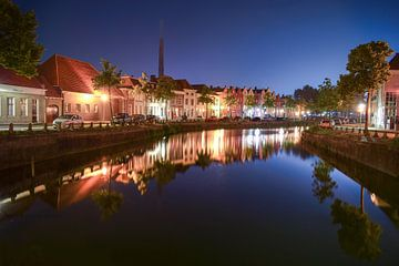 Bergen op Zoom nachtfotografie van Kim de Been