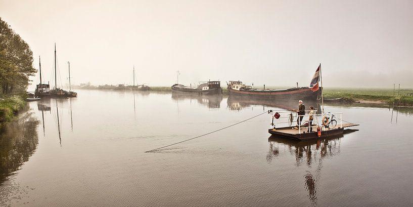 Ferry à main à Haerst sur Frans Lemmens