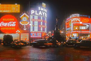 1960 - Piccadilly Circus London