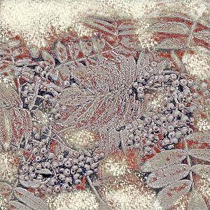 Abstract Autumn Berries van