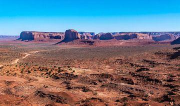 Monument Valley, Colorado Hochebene, Nordamerika von Rietje Bulthuis