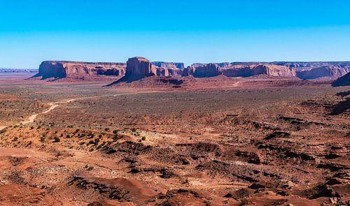 Monument Valley, Colorado plateau, Noord Amerika
