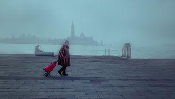 San Marcoplein Venetië van Iman Azizi