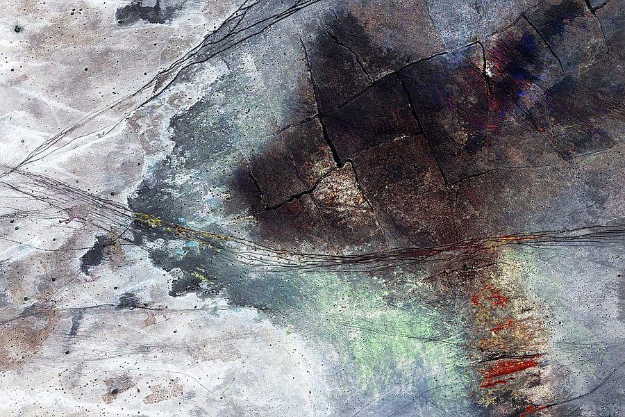 Verwoeste aarde van Arie Van Garderen