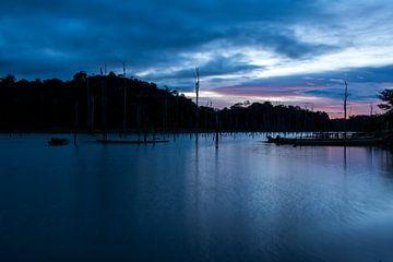 Abendblick auf dem Brownsberg von Ton de Koning