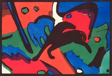 Le Cavalier bleu, Wassily Kandinsky, Franz Marc sur