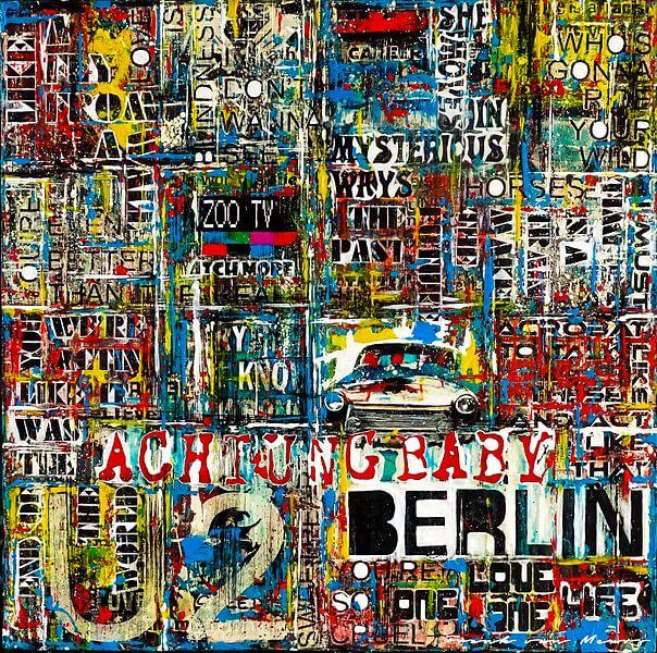 Achtung Baby Berlin van Frank van Meurs