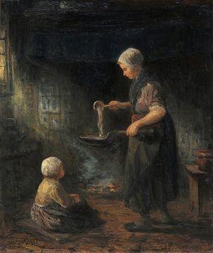 Die Pfannkuchen, Jozef Israëls