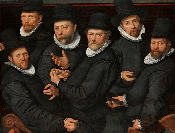Zes waardijns van de lakenen, Pieter Pietersz. (I)