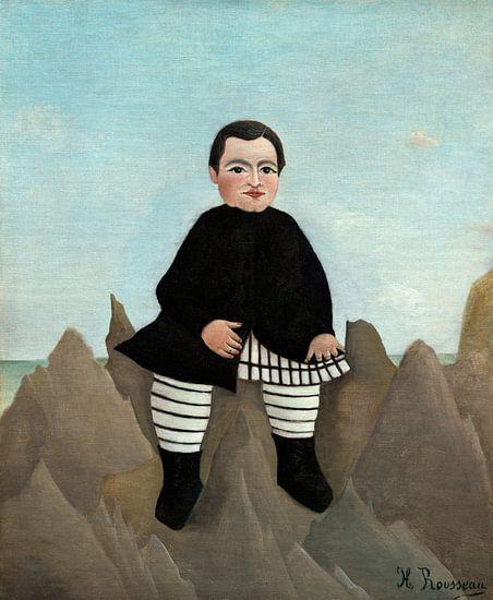 Jongen op de Rotsen, Henri Rousseau