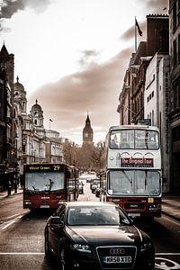 's Ochtendsvroeg in Londen