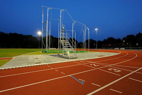 Atletiekbaan Maarschalkerweerd in Utrecht van Donker Utrecht