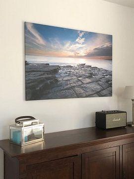 Kundenfoto: Traeth Mawr, vlakbij Monknash, Vale of Glamorgan, South Wales von Herman Schutte