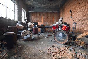 ausrangierte Musikinstrumente