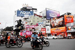Vietnam, Ho Chi Minh stad - Verkeerschaos