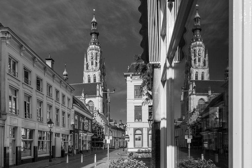 Grote Kerk Breda Reflectie van JPWFoto