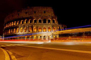 Colisée Rome la nuit sur Ronald Derksen