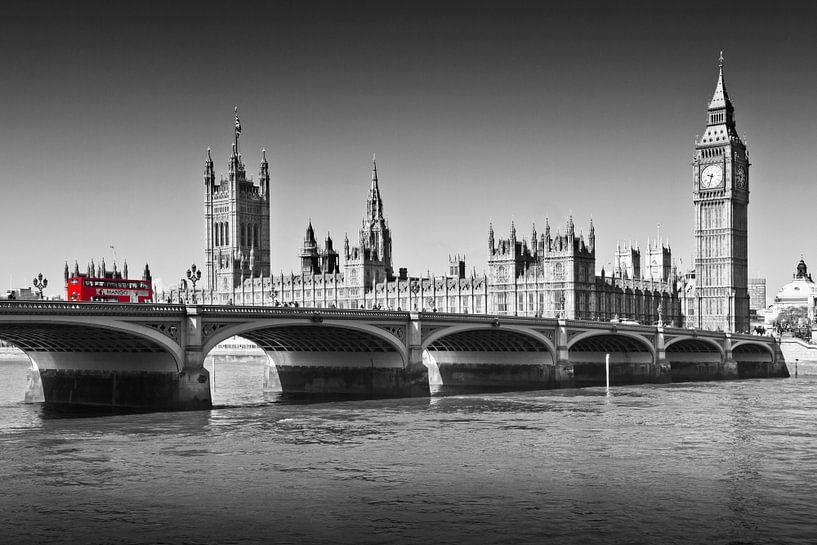 LONDON Westminster Bridge van Melanie Viola