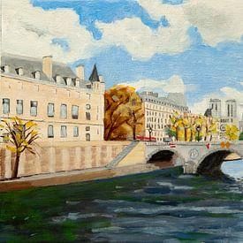 November in Paris 2019 van Antonie van Gelder Beeldend kunstenaar