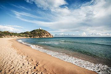 Sardinia - Chia / Costa del Sud sur