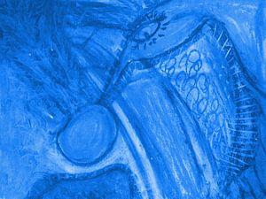 Phantasie - blau sur Katrin Behr