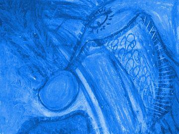 Phantasie - blau von Katrin Behr