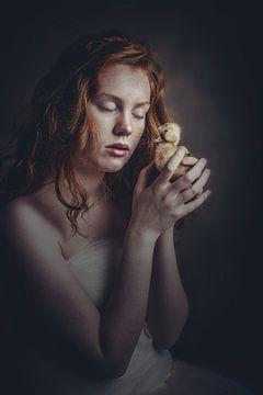 Meisje met de eend sur