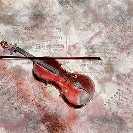Sound of the violin van Ursula Di Chito