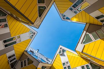 Kubushäuser in Rotterdam von Daan Kloeg